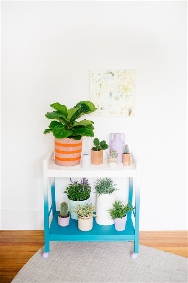 diy plant stand 2 13 modern and lovely DIY plant stand ideas for your dream land
