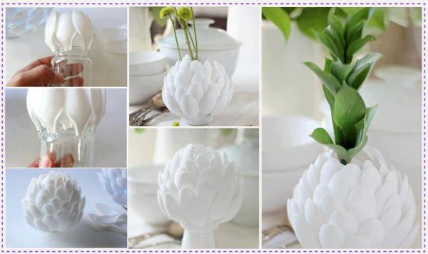 diy vase 1 15 DIY Vase Ideas To Make Your Home Lovely