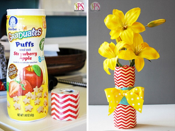 diy vase 10 15 DIY Vase Ideas To Make Your Home Lovely