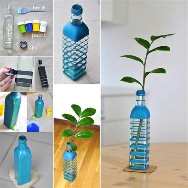 diy vase 13 15 DIY Vase Ideas To Make Your Home Lovely