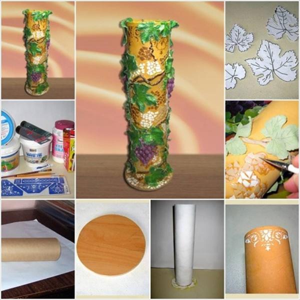diy vase 15 15 DIY Vase Ideas To Make Your Home Lovely