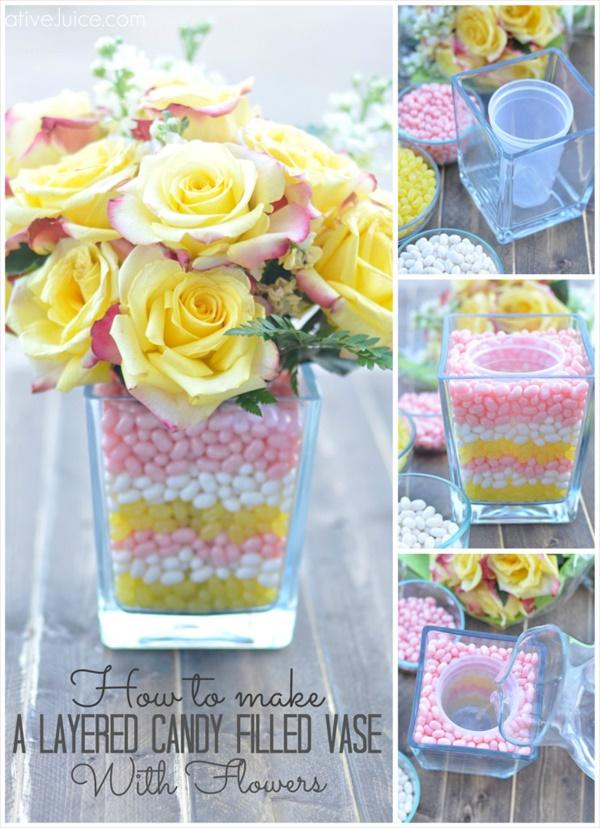 diy vase 6 15 DIY Vase Ideas To Make Your Home Lovely