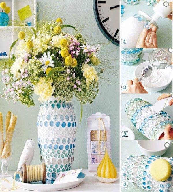 diy vase 9 15 DIY Vase Ideas To Make Your Home Lovely