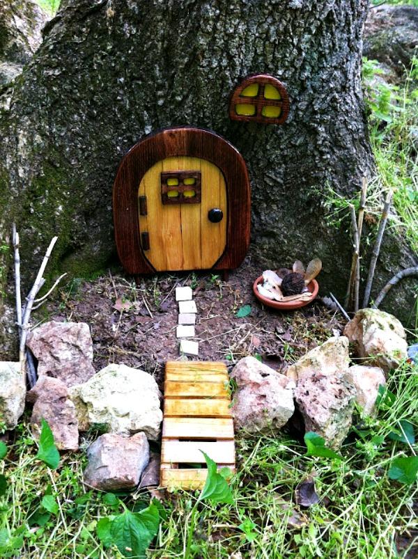fairy door 5 15 easy and lovely fairy door ideas you will love