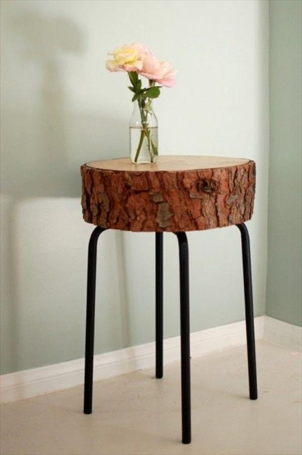 tree stump 7 Transform Tree Stump Into Home Decoration Items
