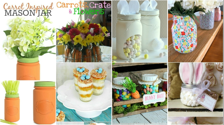 Collage Fotor 1 Wonderful Mason Jar Easter Crafts You Can Gift And Décor Your Home