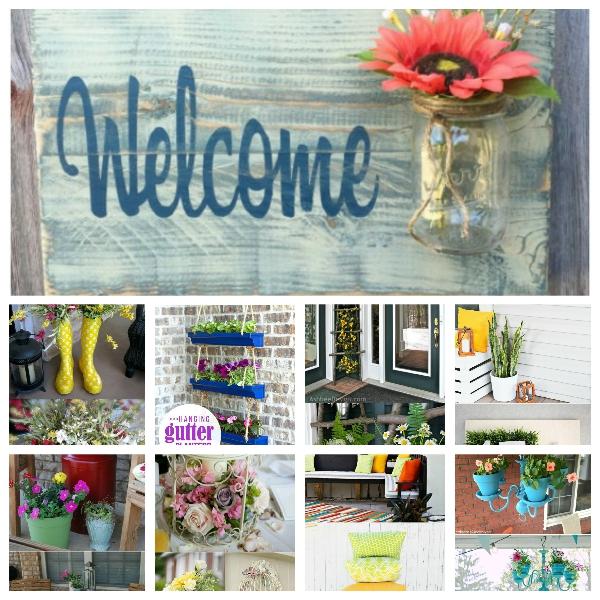 Collage Fotor 16 Inspiring DIY Spring Porch Decorating Ideas