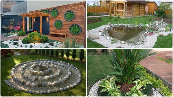 Gargious garden DIY Amazing Garden of Rocks and Pots You'll Like