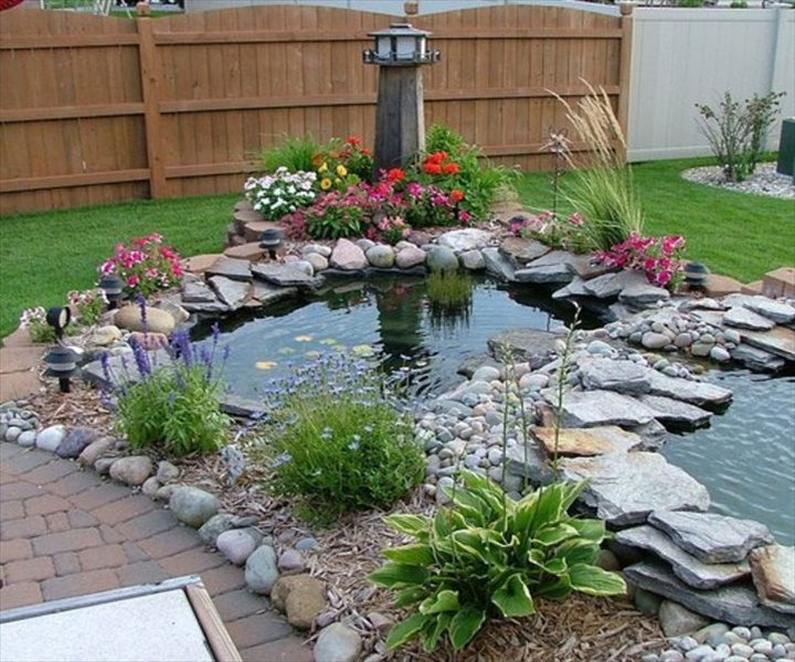 Laghetto Giardino 13 DIY Amazing Garden of Rocks and Pots You'll Like