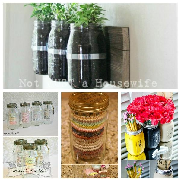Maso jar craft 15 Amazing DIY Mason Jar Organizers You'll Want To Make Right Away