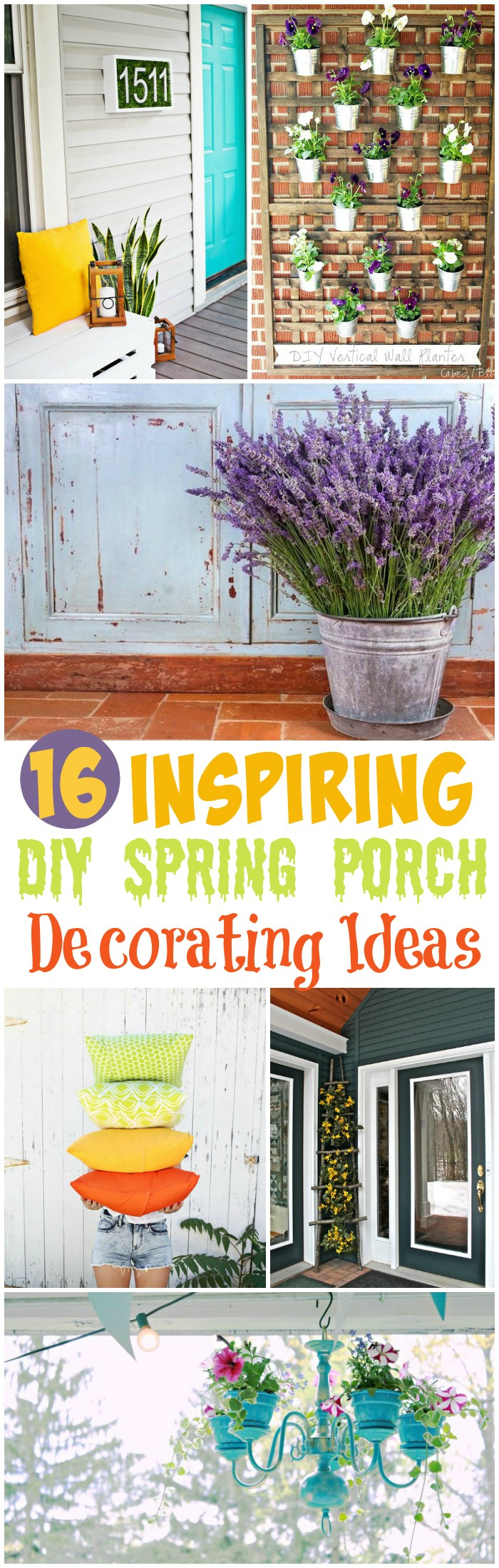 Spring Porch Decorating 16 Inspiring DIY Spring Porch Decorating Ideas