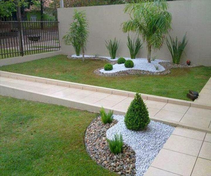 backyard DIY Amazing Garden of Rocks and Pots You'll Like