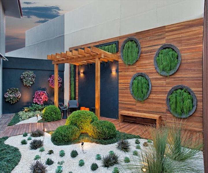 casa cor goias 28 768x511 DIY Amazing Garden of Rocks and Pots You'll Like
