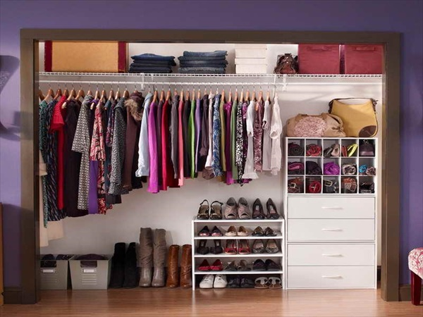 15 genius diy closet organization ideas and projects diy home decor. Black Bedroom Furniture Sets. Home Design Ideas
