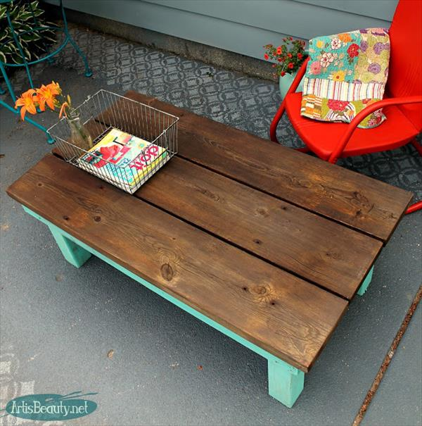 17 cool and lovely diy coffee table ideas you can create for Cool coffee tables diy