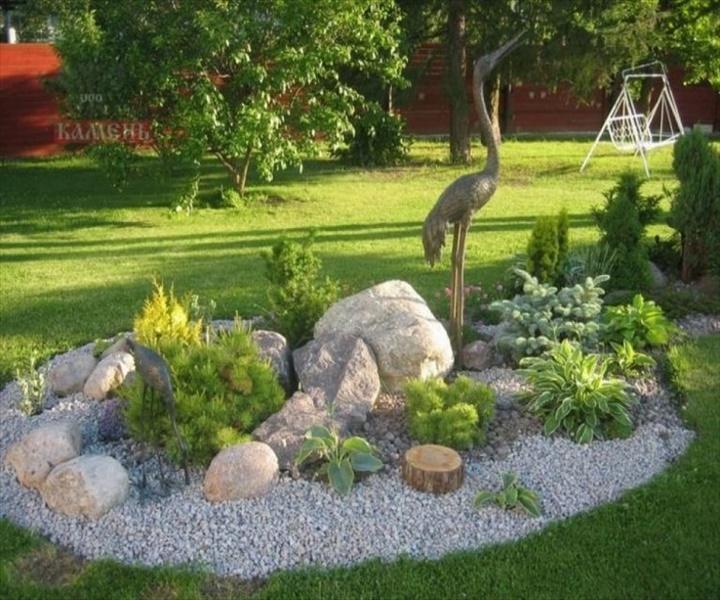 gartengestaltung beispiele und bildersteingarten gestalten ntzliche tipps ideen und beispiele 768x576 DIY Amazing Garden of Rocks and Pots You'll Like