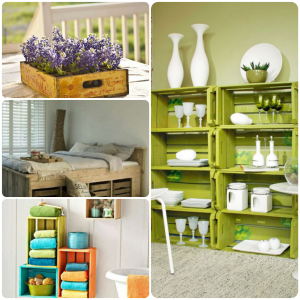 Amazing and wonderful wooden crate craft ideas you should try