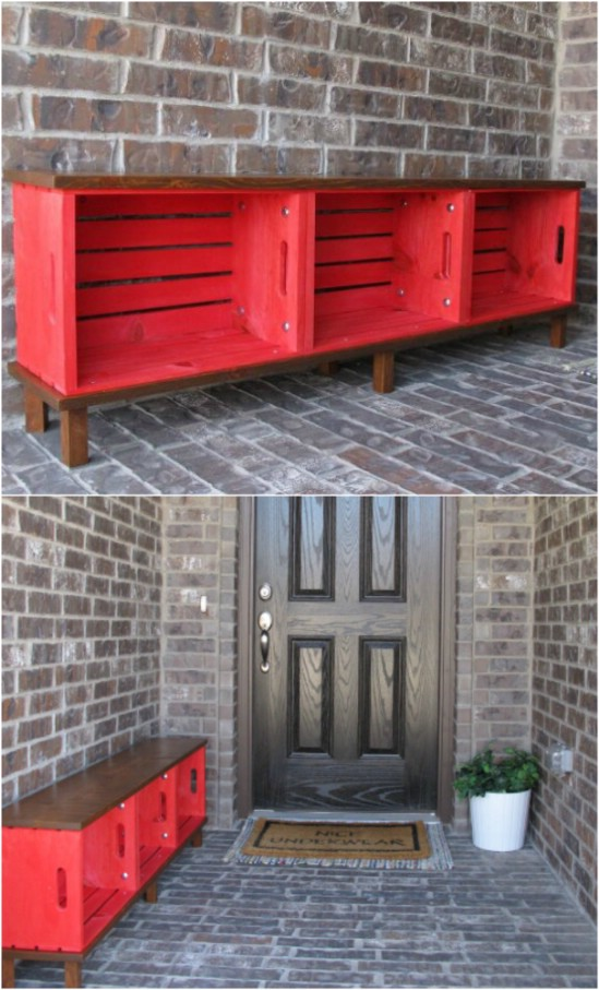 Amazing and wonderful wooden crate craft ideas you should ...