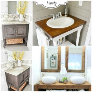 17 Lovely DIY Bathroom Vanities to Make Your Life Beautiful and Easy
