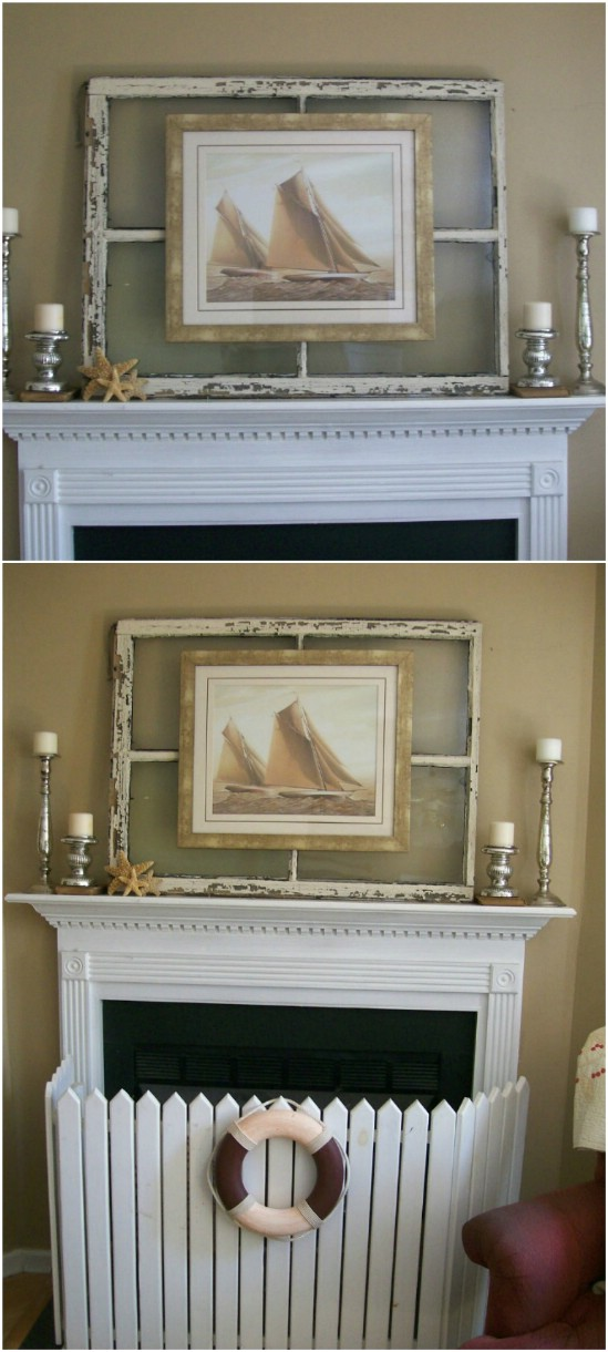 4 window picture frame old window projects diyncrafts Recycling Ideas For Old Windows You Will Amaze