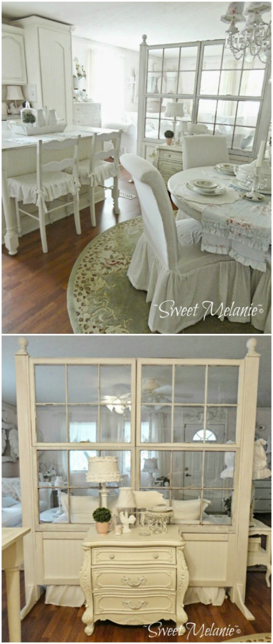 7 old window wall old window projects diyncrafts Recycling Ideas For Old Windows You Will Amaze