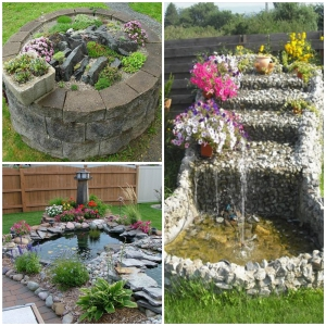 DIY Amazing Garden of Rocks and Pots You'll Like