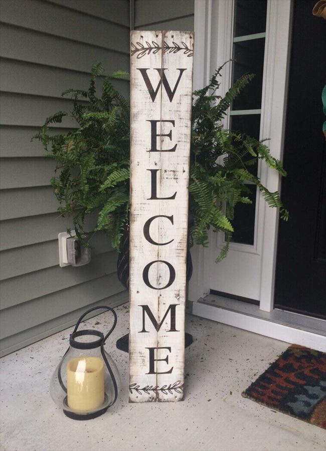 DIY Front Porch Sign Ideas