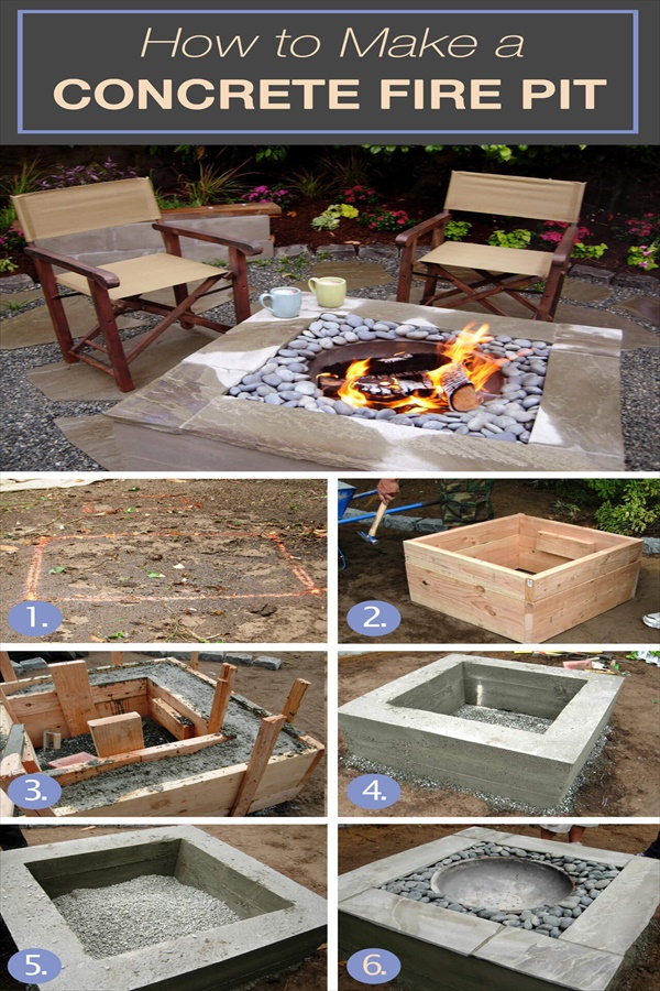 06 diy firepit ideas homebnc Easy and Functional DIY Fire pit Ideas to Make Your Backyard Beautiful