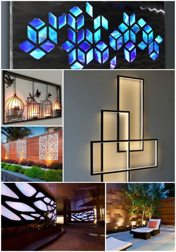 Lighting Wall Art Ideas