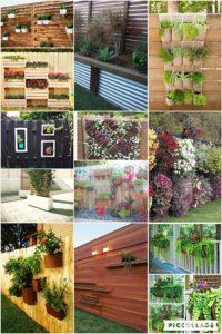 Fence Planter Ideas That Will Make Your Garden Unique