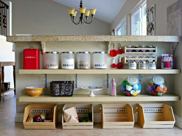 Kitchen Organized 3 The ART In LIFE  DIY Kitchen Organization Ideas to Keep Your Kitchen Cleaned Every Time
