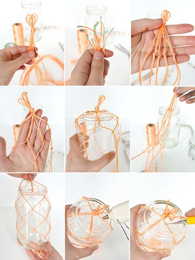 Macrame Eye Candy designrulz 5 DIY Macramé Plant Hanger Ideas That Will Beautify Your Home
