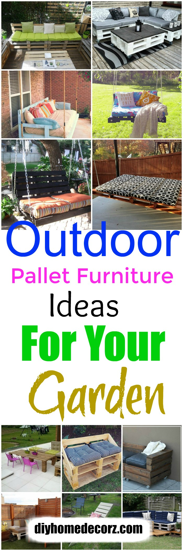 Outdoor Pallet Furniture Ideas For Your Garden Outdoor Pallet Furniture Ideas For Your Garden