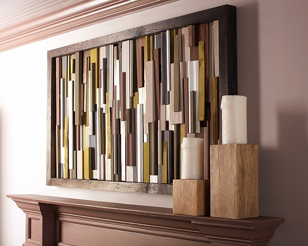 Wood Wall 14 The ART In LIFE DIY Wall Decorations That Can Change Your Home Look
