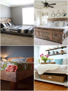 Gorgeous DIY Bed Frame Ideas You Can Build Your Own