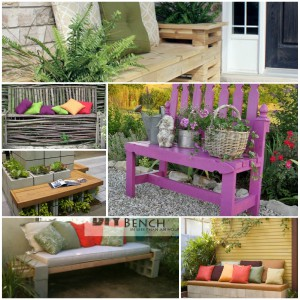 DIY Outdoor Bench Ideas You Will Love To Create Yourself