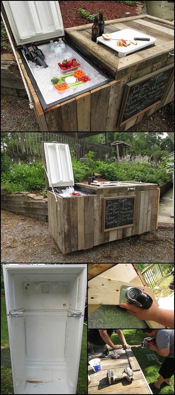 DIY Outdoor Bar Ideas That Will Beautify Your Outdoor ... on Backyard Bar Ideas id=94597