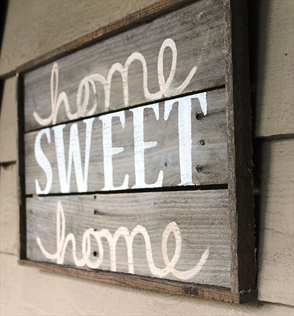 15 wood signs ideas  Amazing Wood Sign Ideas That Will Give A Rustic Look To Your Home