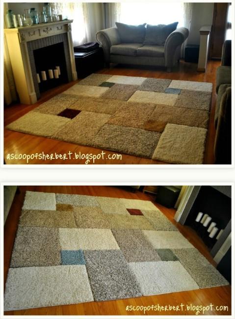 crochet rope light rug instructions