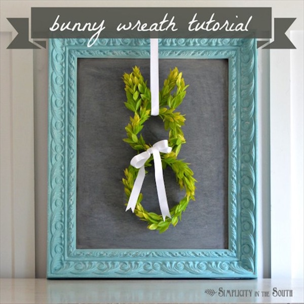 Bunny boxwood wreath tutorial Simplicity In The South. Spring Wreath Ideas That Will Upgrade Your Front Door