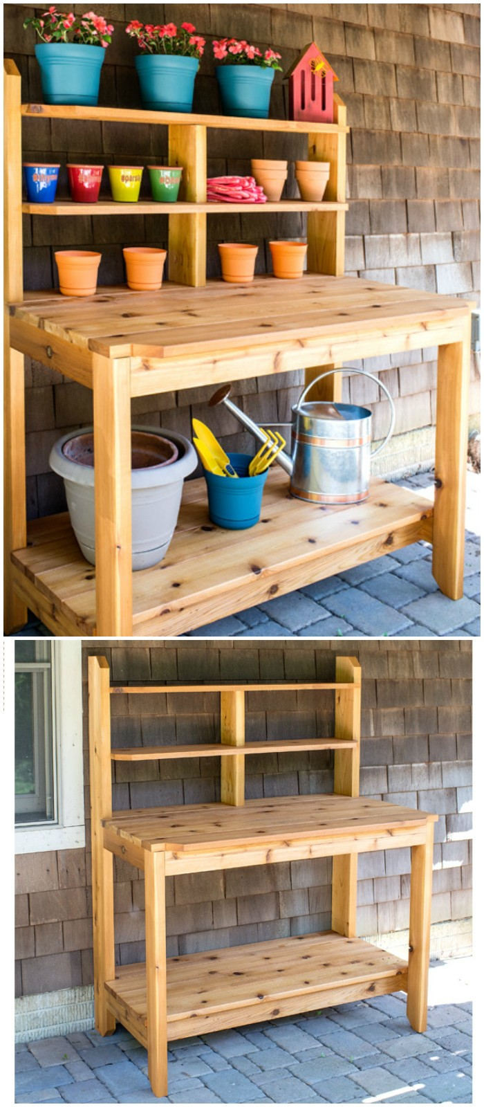 Cottage Garden Planter's Stand