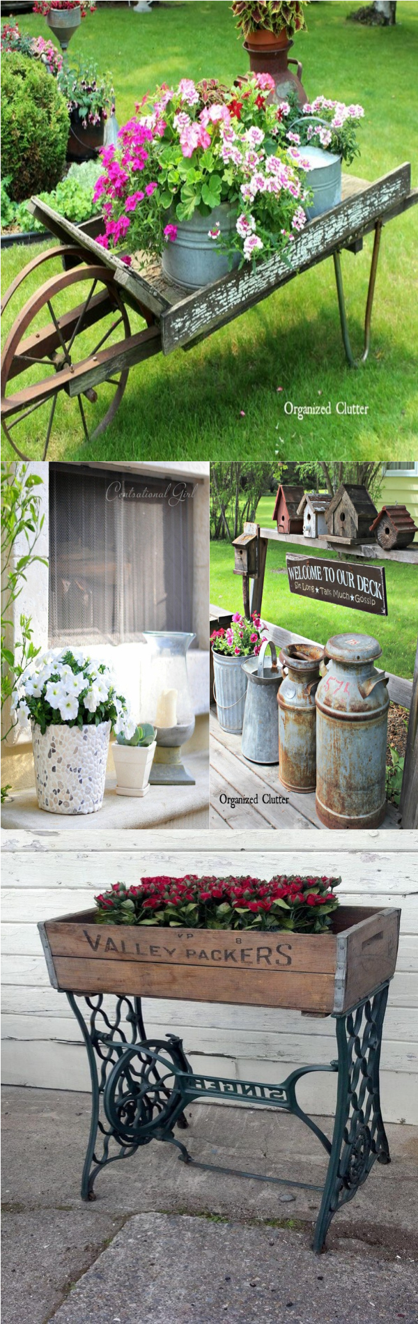 Diy garden decorating ideas for your garden diy home decor for Diy home garden design