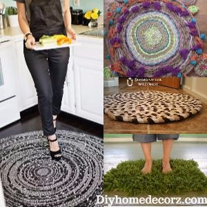 Interesting DIY Rug That Will Brighten Up Your Home