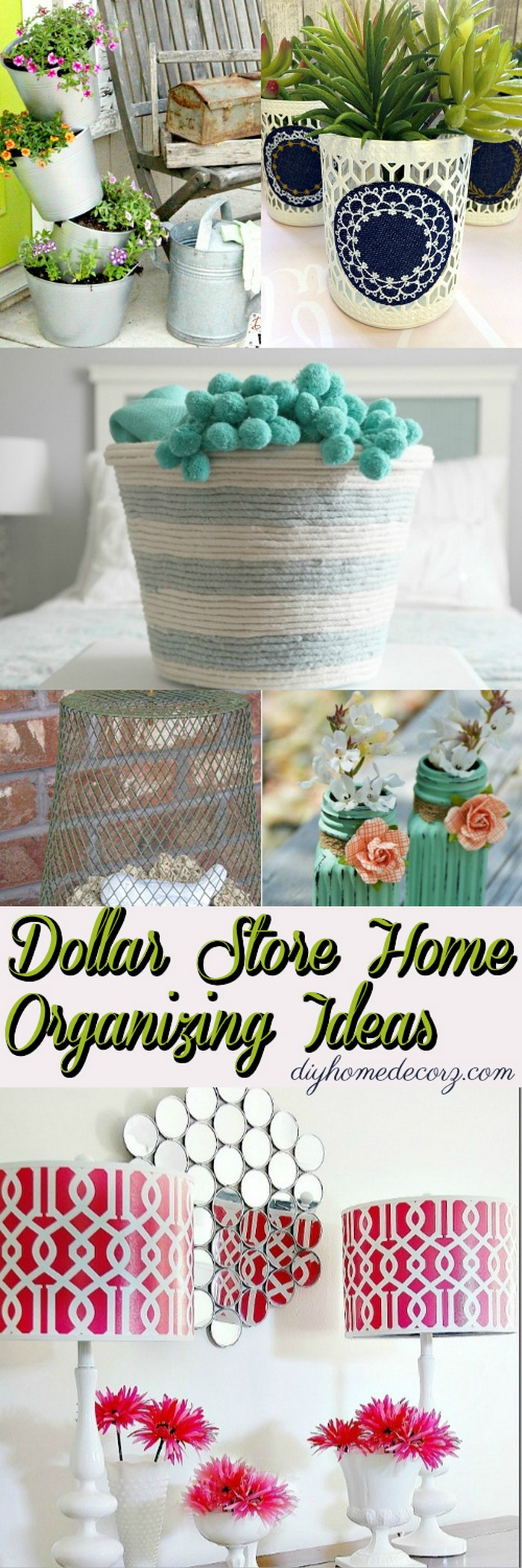 Dollar Store Home Organizing Ideas 3 Dollar Store Home Organizing Ideas