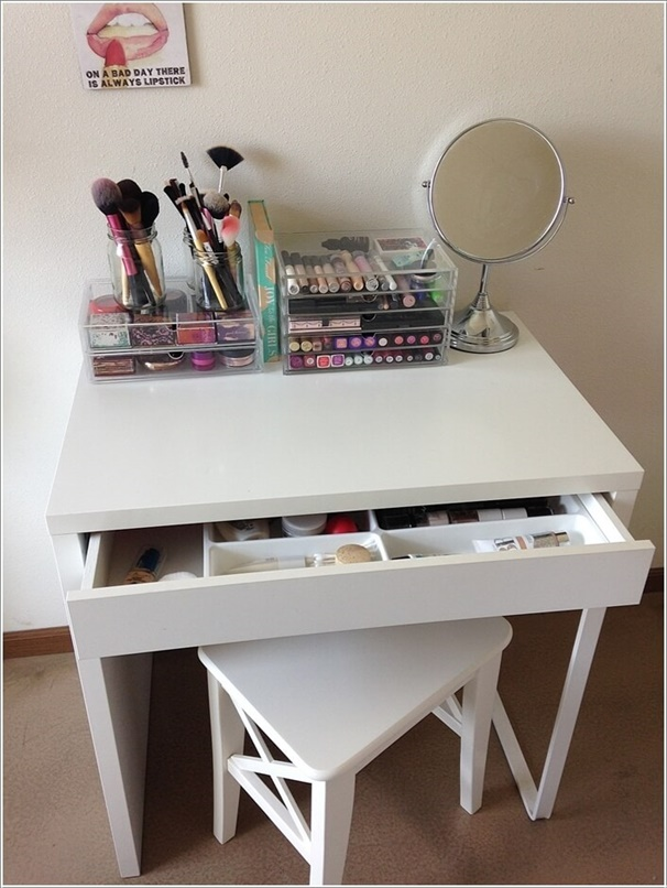 makeup vanity table