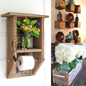 Reclaimed Wood Ideas That Will Make Interesting DIY Home Projects