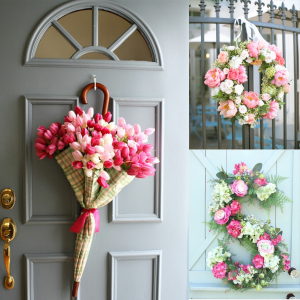 Spring Wreath Ideas That Will Upgrade Your Front Door