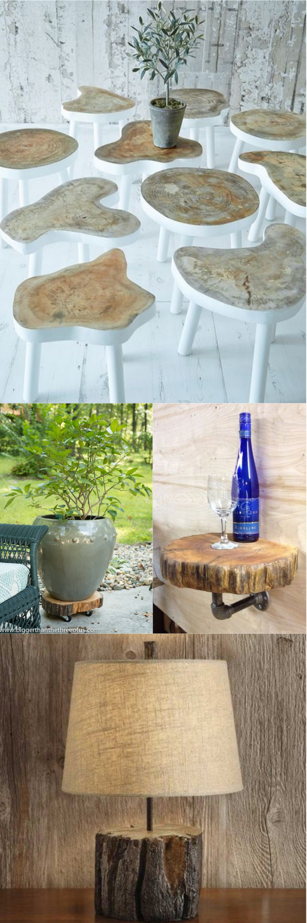 Tree Stump Home Decoration Ideas You Can Make Easily • Diy Homedecorz
