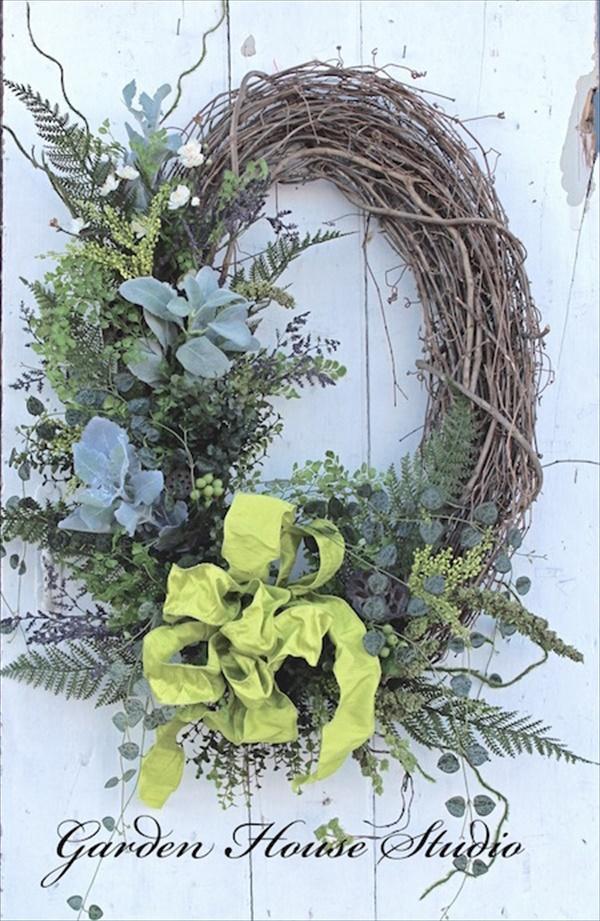 bestwreathpic Spring Wreath Ideas That Will Upgrade Your Front Door