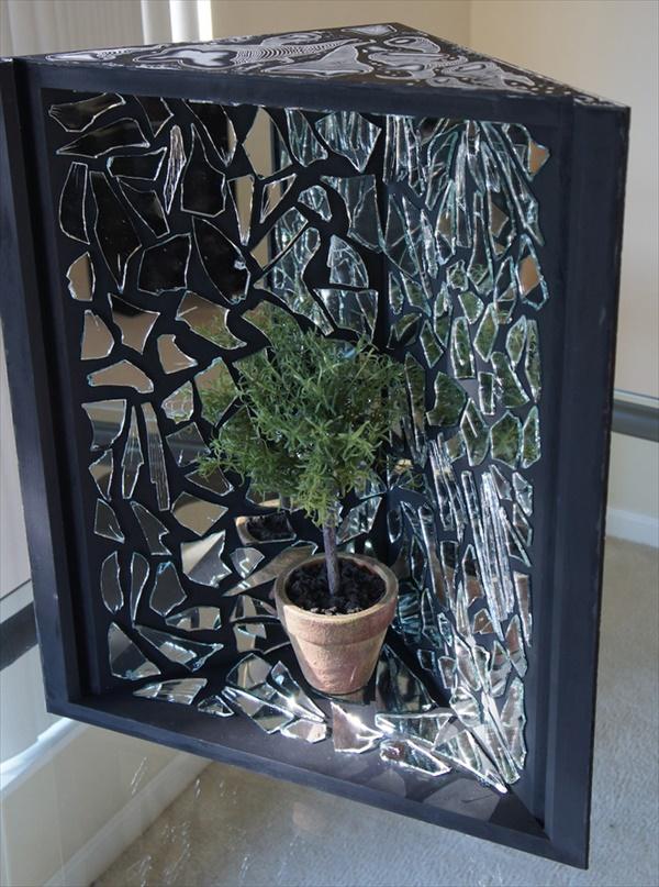 mirror 4 Genius Crafty DIY Ideas to Use of Broken Mirror